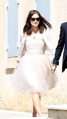 """Keira Knightley Wedding Dress- I will have a """"Keira Knightley moment"""" when we have out little courthouse wedding"""