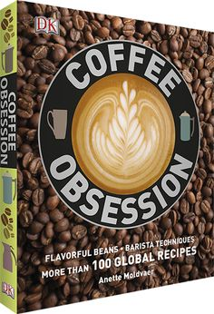 Coffee Obsession is a beautiful and easy to read book with so much material.