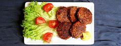 Vegane Kidneybohnen Frikadellen