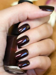 Midnight in Moscow.... favorite winter OPI color!     But I lost the bottle and I can't find it at the stores !!!!  MJ