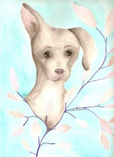 ANIMALES EN ACUARELA Y TINTA   Lola Kabuki, arte personalizado Animales en #acuarela, es un conjunto de #pinturas realizadas en acuarela y #tinta