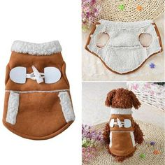 New Pet Coat Dog Jacket Winter Clothes Puppy Cat Sweater Coat Clothing Apparel. New Pet Coat Dog Jacket Winter Clothes Puppy Cat Sweater Coat Clothing Apparel S. New Waterproof Pet Dog Clothes Autumn Winter Warm Padded Coat Vest Jacket Large. Small Dog Clothes, Pet Clothes, Fleece Dog Coat, Fleece Vest, Fleece Sweater, Pet Dogs, Dog Cat, Pet Supplies Plus, Dog Clothes Patterns