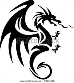 45 creative dragon tattoos - Google Search