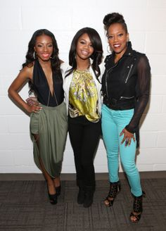 Exclusive Access: Gabby Douglas and Regina King visit 106 & Park