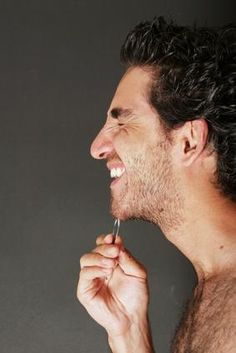 Male beautification and pampering?