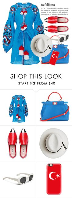 """""""Smile while you still have teeth"""" by dorinela-hamamci on Polyvore featuring March11, Fendi, Calypso Private Label and Casetify"""