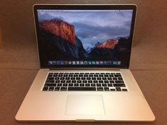 "Apple MacBook Pro Retina 15.4"" Laptop MC975LL/A (June 2012) 2.3GHz i7 8GB 256GB"