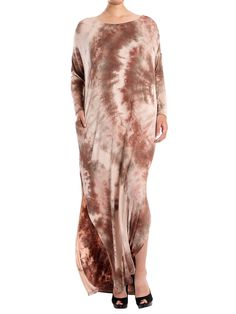 8a936f4d801c3 Maternity Styles - beautiful maternity dresses : JayJay Women Casual Loose  Fit Long Sleeve Split Tie Dye Long Maxi Dress with *** Much more  information ...