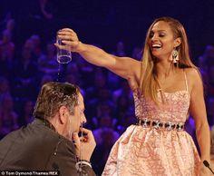 Alesha Dixon on Britain's Got Talent. Semi-Final 26 May Britain's Got Talent Judges, Alesha Dixon, Britain Got Talent, Simon Cowell, My Idol, Amanda, Diva, Tv Shows, Entertaining
