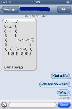 My life in a bottle ps im grey Funny Emoji Texts, Funny Jokes, Cool Text Symbols, Emoticons Text, Sarcastic Comebacks, Iphone Texts, Lol Text, Funny Text Conversations, Cheesy Jokes