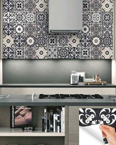 Stickers carrelage Tile stickers tile decals carrelage 24 pcs | Etsy Bathroom Decals, Tile Decals, Vinyl Tiles, Bathroom Furniture, Diy Ideas, Budget, Diy Projects, Indoor, Etsy Shop