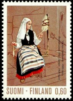 Category:Stamps of Finland, 1973 - Wikimedia Commons Postage Stamp Design, Postage Stamps, Folk Costume, Costumes, Wooly Bully, Going Postal, Sewing Art, Penny Black, Mail Art