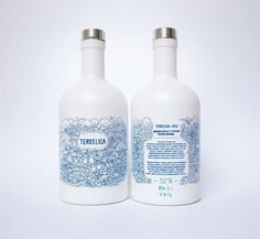 Terkelica packaging / simple two-color design with a handmade feel