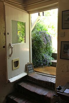 Kitchen door, Monk's House | Home of Virginia Woolf | Flickr - Photo Sharing!