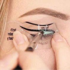2 Set of 4pcs women s fashion videos smoky cat eye makeup eyeliner Beauty  Tools - Black ac1d549b1