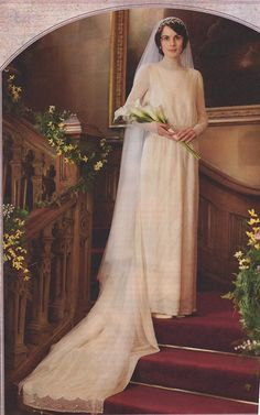 Lady Mary's wedding gown