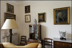 FRANCE. Haute Marne departement. Champagne Ardenne region. Colombey-les-deux-églises. Charles DE GAULLE's salon (drawing room, living room).