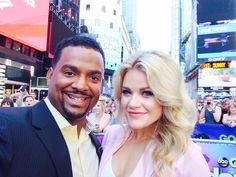 He Makes Me Smile, Make Me Smile, Alfonso Ribeiro, Witney Carson, Professional Dancers, Female Actresses, Smiles And Laughs, Good Hair Day