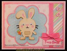 Cricut create a critter rabbit card