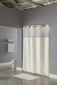 Hookless Fabric Shower Curtain With Built In Liner Beige Your Is The Largest Decorative Element Bathroom So We Put Extra Care Into