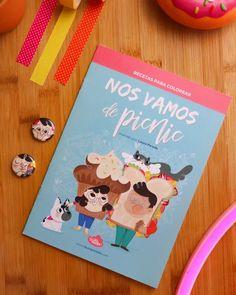 """Cuaderno para colorear """"Recetas Ilustradas"""" Nos vamos de Picnic -- Laura Pereda (@lau_ilustra) #ilustración #cuchi #cuchilover Words, Cover, Art, Illustrated Recipe, Colouring In, Lets Go, Recipes, Art Background, Kunst"""