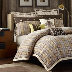 I pinned this Carrolton King Comforter Set from the Lucina Home event at Joss and Main!