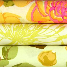 Martha Negley Fabric Pack   (flower market in petal)