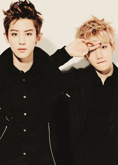 CHANBAEK SO HOT WE LOVE YOU