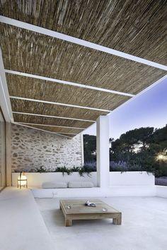 Spanish architect Marià Castelló Martínez has created the Can Manuel d'en Corda on the island of Formentera, Spain.