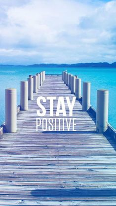 Stay Positive Motivational  #iPhone #5s #wallpaper