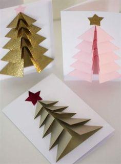 <span>Så här fina kan dina egna julkort bli. Vill du imponera på de du ska skicka julhälsning till är det bara att sätta i gång att pyssla.</span>