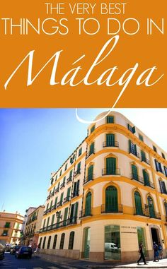 Málaga is steeped in history with its beautiful architecture and ancient Moorish ruins. There are many things to do in Málaga for vistors both day and night Europe Destinations, Europe Travel Tips, Travel Guides, Travel Abroad, Cool Places To Visit, Places To Travel, Places To Go, Portugal Travel, Spain And Portugal