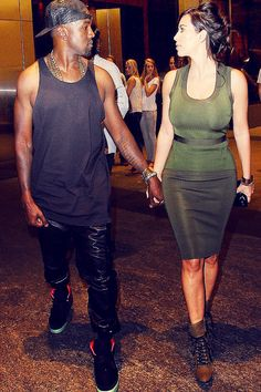 I could easily wear both outfits. Kim kardashian and kanye west