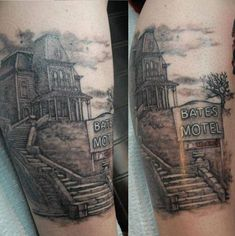 Horror movie tattoos prove a certain dedication to the genre, and the people on this list nailed it. From classic horror tattoos to modern ones, these scary tats are beautiful in a creepy way. Black Sleeve Tattoo, Full Sleeve Tattoos, Celtic Tattoo Symbols, Celtic Tattoos, Lamm Tattoo, Tattoo Ink, Horror Movie Tattoos, Horror Movies, Pocket Watch Tattoos
