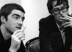 Noel Gallagher & Jarvis Cocker