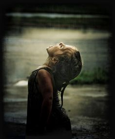 take in the rain