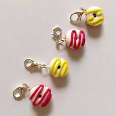 Crochet stitch markers donut stitch markers by AbsoKnittingLutely, £8.00