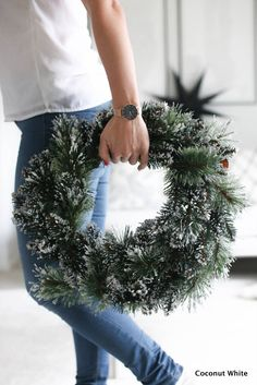 Joulukranssi ja juhlaviikon käynnistys | Coconut White