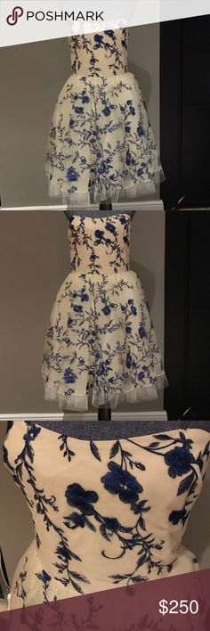 Nolte by Marchesa dress Beautiful Nolte by Marchesa dress. Perfect for any event! Never worn! Marchesa Dresses Strapless