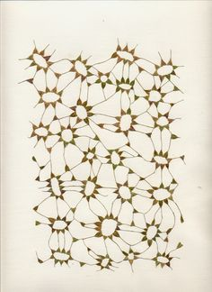 Marian Bijlenga Written Weed (98), 2004 42 x 31 cm