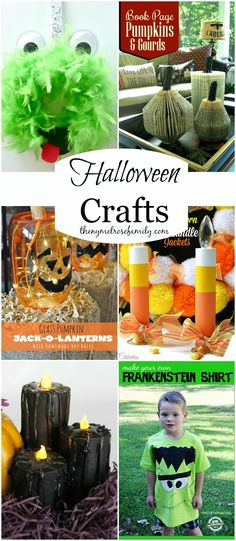 Halloween Crafts collected by The NY Melrose Family