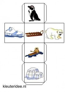 verteldobbelsteen Noordpool met lesideeën Put awards inside Polar Animals, Polar Bear, Winter Wonder, Winter Fun, Dramatic Play Themes, Inuit People, Winter Activities, Coloring Pages, Preschool