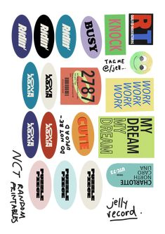 Journal Stickers, Scrapbook Stickers, Printable Stickers, Cute Stickers, Sticker Printer, Collage Des Photos, Tumblr Stickers, Good Notes, Room Posters