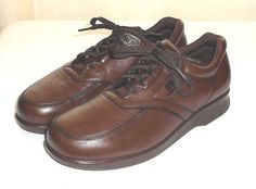 SAS Tripad Comfort Time Out Men's Brown Leather Oxford Shoe Size 9.5 M #SasTripadComfort #Oxfords