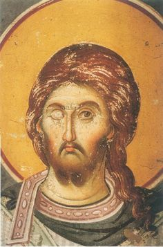 Fresco, Sacred Art, Illuminated Manuscript, Christian Art, Mosaic, Projects To Try, Face, Painting, Doodles