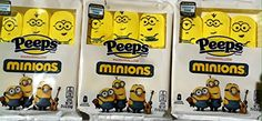 Peeps Limited Edition - Marshmallow Minions - 6 Minions Per Pack - 3 Packs Included (18 Minions) Peeps http://www.amazon.com/dp/B00QUA1AP8/ref=cm_sw_r_pi_dp_KF0bwb1M32XQ0
