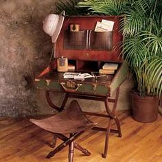 Travel desk- perfect for guest bedroom!
