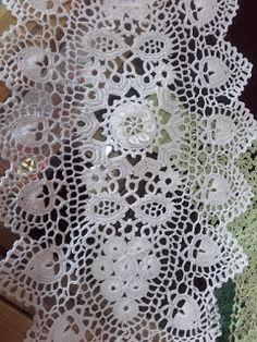 Szydełkowy zakątek Crochet Potholders, Crochet Tablecloth, Crochet Doilies, Crochet Lace, Irish Lace, Chrochet, Table Covers, Irish Crochet, Dream Catcher