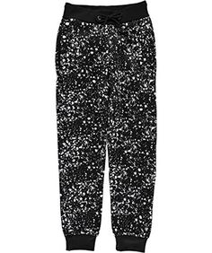 Brooklyn Xpress Big Boys Ink Splash Joggers  black 1012 ** Details can be found by clicking on the image.Note:It is affiliate link to Amazon.