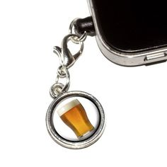 Graphics and More Glass of Beer AntiDust Plug Universal Fit 35mm Earphone Headset Jack Charm for Mobile Phones iPhone iPod iPad and Galaxy  1 Pack  NonRetail Packaging  Antiqued Silver * To view further for this item, visit the image link. (This is an affiliate link) #PhoneCharms